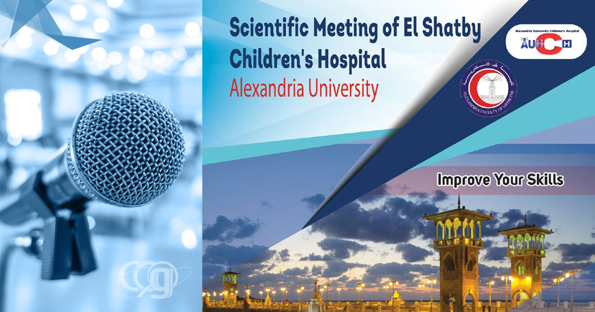 Scientific Meeting of El Shatby Children's Hospital, Alexandria University 2018