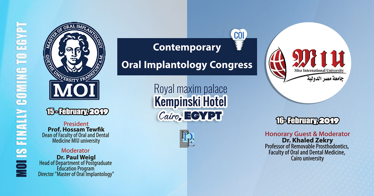 Contemporary Oral Implantology Congress