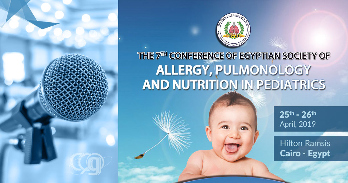 7th Conference of Egyptian Society of Allergy, Pulmonology and Nutrtion in Pediatrics