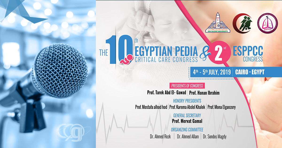 The 10th Egyptian Pedia Critical Care Congress & 2nd ESPPCC Congress