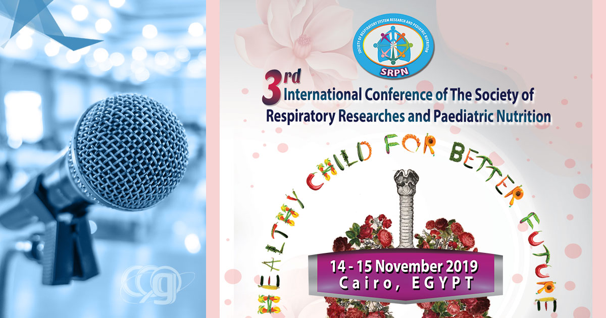 3rd International Conference of the Society of Respiratory Researches & Pediatric Nutrition
