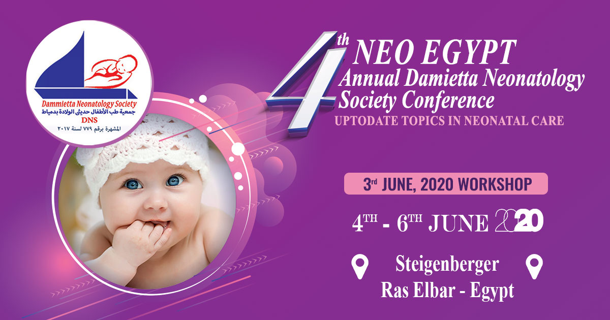 4th Annual Damietta Neonatology Society Conference [NEO EGYPT]