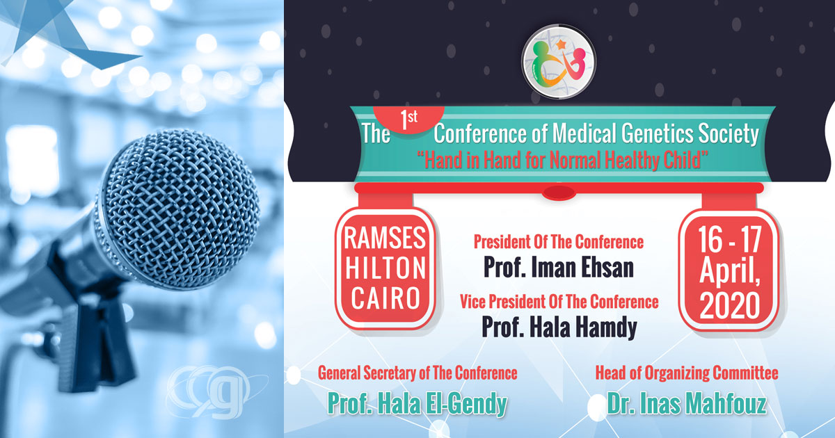 1st Conference of Medical Genetics Society